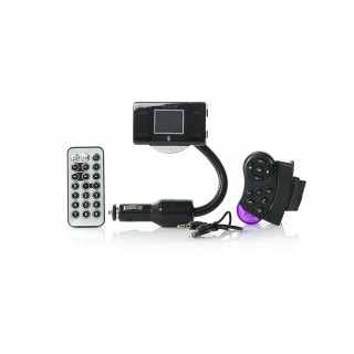 """1.5"""" LCD MP3 Player FM Transmitter + Bluetooth Hands-Free"""